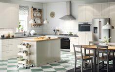 Choice new kitchen gallery - Kitchen & appliances - IKEA Kitchen Ikea, Kitchen Chairs, New Kitchen, Kitchen Decor, Kitchen Island, 1920s Kitchen, Kitchen Board, Kitchen White, Kitchen Layout