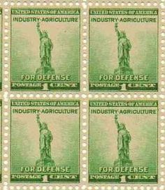For Defense - Industry Agriculture Set of 4 x 1 Cent US Postage Stamp Scot 899 . $5.95. For Defense - Industry Agriculture Set of 4 x 1 Cent US Postage Stamp Scot 899