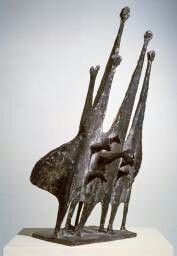 """Kenneth Armitage """"People In The Wind"""" 1950 The Tate"""