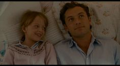 Jude Law as Graham in The Holiday <3 He's super hot when he's so tender. His girls in this movie are fantastic too!
