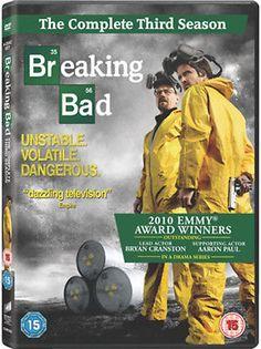 Breaking bad - #season 3  dvd bryan cranston, #aaron paul, anna #gunn, dean norri,  View more on the LINK: http://www.zeppy.io/product/gb/2/291957341627/