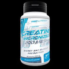 CREATINE MICRONIZED 200 MESH: Farmaceutycznej jakości, mikronizowany Monohydrat Kreatyny   Intensywny wzrost masy i siły mięśniowej Wysoki stopień mikronizacji Farmaceutyczna jakość surowca