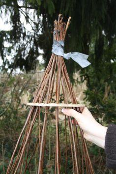 Korbflechten Teil 3, Bild 2 Plant Hanger, Diy Wood, Decor, Basket Weaving, Creative, Basteln, Decorating, Inredning, Interior Decorating