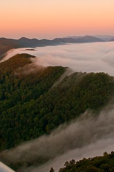 Kentucky - CUMBERLAND GAP NATIONAL HISTORICAL PARK -- The Most Beautiful Spot in Every U.S. State via @PureWow