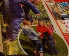 Prince George hugging girls at the park ♥