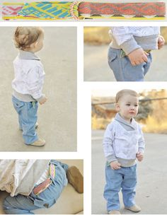 Little Man Tuck ::  DIY Sewing Inspiration