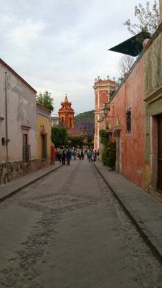 Calle en Bernal - queretaro - mexico