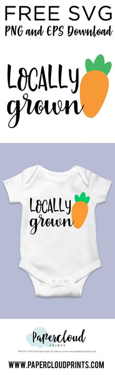 Locally grown FREE SVG Cut File Download Svg Files For Scan And Cut, Free Svg Cut Files, Svg Files For Cricut, Diy Vinyl Projects, Vinyl Crafts, Kids Silhouette, Diy Scrub, Svg Cuts, Cutting Files