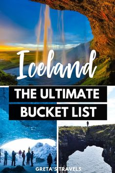 Iceland Top Best Places To Visit & Things To Do In Iceland If you're planning a trip to Iceland these 10 must-see places can't miss from your itinerary. Find out the best places to visit and things to do in Iceland. Iceland Travel Tips, Europe Travel Tips, Travel Guides, Travel Destinations, Travel Goals, Cool Places To Visit, Places To Travel, Iceland Places To Visit, Travel Route