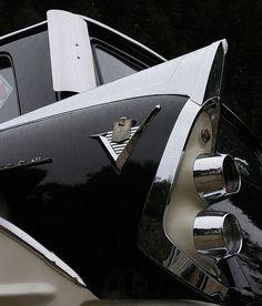 1956 Dodge D500 Hemi Wagon Tail Fin by Steve Hathaway via Flickr