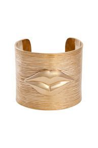 Fixation Cuff #kellywearstler #cuff #jewelry #gold #mothersday #gift