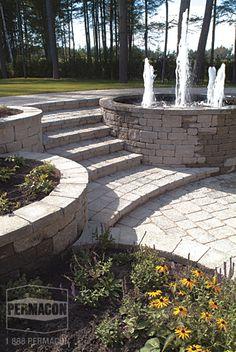 Concrete Masonry U0026 Landscaping Design Portfolio   Permacon
