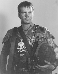 Aliens: Bill Paxton as Colonial Marine Hudson Alien Films, Saga Alien, Aliens Movie, Alien Art, Bea Arthur, James Cameron, David Fincher, Bill Paxton Aliens, Artists