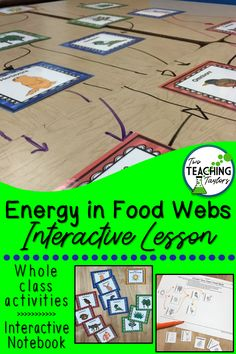 Use this fun science activity in your classroom for kids to create their own graphic organizers. Use the task cards to have student create food chains and food webs and share ideas for how the food webs affected by change. Cooperative Learning Activities, 5th Grade Activities, 4th Grade Science, Elementary Science, Science Classroom, Teaching Science, Teaching Tips, Science Education, School Classroom