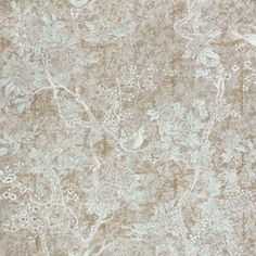Ralph Lauren MARLOWE FLORAL STERLING Wallpaper