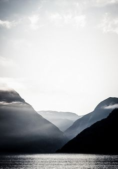 layers upon layers of Scandinavia; Eidfjord, Norway
