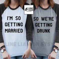 just drunk,  bachelorette shirts, bridesmaid shirts, bachelorette party shirt, bride shirt, bride baseball shirt, bachelorette shirts,