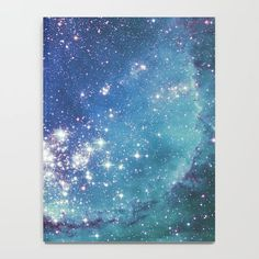 Our luxurious notebooks feature beautiful wraparound artwork, with an anti-scuff laminate cover. Galaxy Notebook, Dog Phone, Space And Astronomy, Journal Entries, Blue Glitter, Ink, Notebooks, Journals, Stars