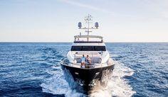 The distinctive Princess part of the award winning Princess M Class superyacht range Princess Yachts, M Class, Super Yachts, Luxury Yachts, Luxury Life, Boats, Range, Gallery, Projects