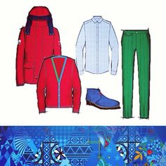 From tailored luxury to sporting excellence. Larusmiani has designed a total look for Azerbaijan's athletes taking part in the 2014 #Sochi Olympics: 12 limited numbered editions will go on sale at the company's commercial partner Emporium  www.larusmiani.it #sport #handmade #italianstyle #Olympics2014