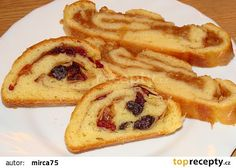 Tvarohová roláda recept - TopRecepty.cz French Toast, Treats, Baking, Breakfast, Sweet, Food, Sweet Like Candy, Morning Coffee, Candy