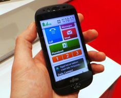 The Fujitsu Stylistic S01 is an Android smartphone simplified for seniors, but packed with features