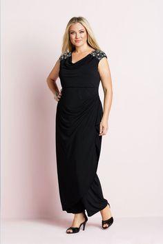 Sara Jewel Maxi Dress - EziBuy New Zealand