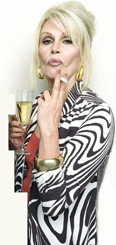 Absolutely Fabulous Patsy played by Joanna Lumley. Jennifer Saunders, Patsy And Eddie, Patsy Stone, Joanna Lumley, Culture Pop, Ab Fab, Women Smoking, Absolutely Fabulous, Celebs