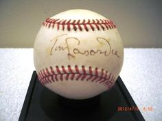Tom Lasorda Autographed Baseball | crazycollectors.com