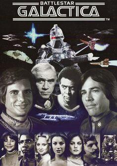Battlestar Galactica (Original Series) I'm sorry but I am loving that it's on Netflix. Use to watch it with my Mom. Battlestar Galactica (Original Series) I'm sorry but I am loving that it's on Netflix. Use to watch it with my Mom. 70s Tv Shows, Sci Fi Tv Shows, Sci Fi Series, Science Fiction, Star Trek, Kampfstern Galactica, Battlestar Galactica 1978, Mejores Series Tv, Classic Sci Fi