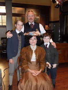Murdoch Mysteries (T.V. series)  Inspector Brackenreid & Family