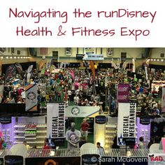 A look at what you should expect when visiting the runDisney Health & Fitness Expo at ESPN Wide World of Sports.