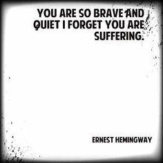 Hemingway...I definitely have a few friends that fit that description!