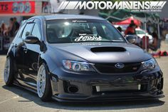 This Subaru Impreza WRX STi is looking good!