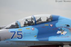 Sukhoi Su-27UB Flanker Ukrainian Air Force RIAT 2011 (8)