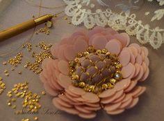 Золотая и кутюрная вышивка от Натальи Сорокиной.