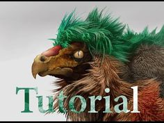Tutorial: Fibermesh for Concept part 1: Zbrush Sculpting and Editing ( fur, feathers, hair, quill ) - YouTube