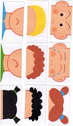 Making a Puzzle with Emotions (molded) - Preschool Children Akctivitiys Preschool Learning, Preschool Crafts, Teaching Kids, Emotions Activities, Preschool Activities, Montessori, Art For Kids, Crafts For Kids, Feelings And Emotions