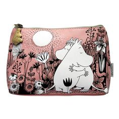 Moomin Love make up bag by Disaster Designs