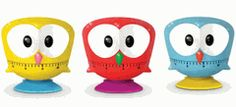 owl kitchen timers! So cute