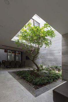 Interior garden 388224430381696331 - Gallery of D House / ARO Studio – 2 Source by Design Patio, Courtyard Design, Exterior Design, Garden Design, Courtyard Ideas, Indoor Courtyard, Internal Courtyard, Courtyard House, Home Room Design