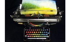打字也能畫圖? Tyree Callahan改造打字機的繪畫藝術 - La Vie行動家 設計改變世界