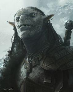 ArtStation - Orc, JAN DITLEV