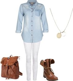 """Cute School Outfit"" by jenna-cooper on Polyvore"