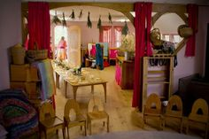 bare feet and a free spirit: Waldorf Kindergarten photos