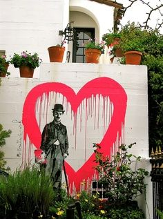 Collection of awesome street art, wall murals, freewalls & graffiti urban art on Mr Pilgrim Art Online Street Art Banksy, Banksy Graffiti, Bansky, Graffiti Artists, Graffiti Lettering, Street Art Love, Best Street Art, Urbane Kunst, Pop Art