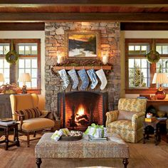 A charming cottage in holiday decor | Interior Heaven