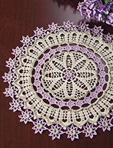 DOLLAR DOWNLOADS! Dec 12th only, download crochet doilies for just $1 each at e-PatternsCentral.com.