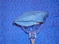 Toddler Newsboy Blue Jeans Denim Hat by AdorableandCute on Etsy, $24.00