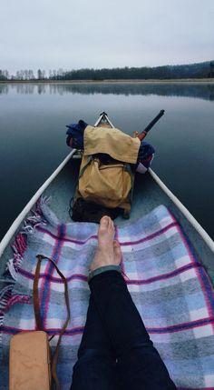 Lone Canoe